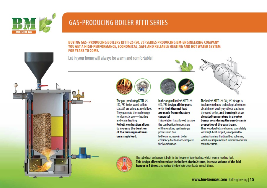 Solid fuel boilers | Engineering company processing of biomass